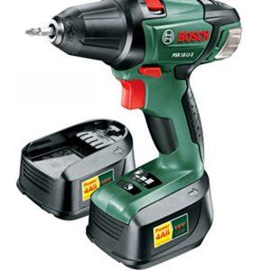 Bosch-PSR-18-LI-2-Perceuse-Visseuse-sans-Fil-Coffret-2-Batteries-18-V-20-Ah-Technologie-Syneon-0