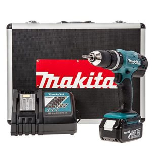 Makita-DHP453RFX-Perceuse-visseuse--percussion-avec-batterie-18-V-3-Ah-0