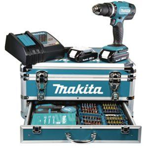 Makita-DHP453RYX2-Perceuse-visseuse--percussion-2-x-18-V-3-Ah-96-Accessoires-0