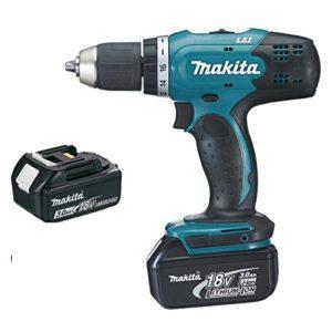 Perceuse-visseuse-MAKITA-18V-30Ah-2-Batteries-chargeur-en-coffret-DDF453SFE-0