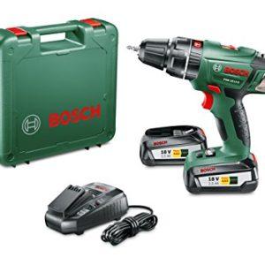 Bosch-Perceuse-visseuse--percussion-Expert-sans-fil-PSB-18-Li-2-coffret-2-batteries-18V-25-Ah-technologie-Syneon-060398230C-0