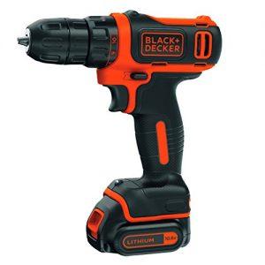 BLACKDECKER-BDCDD12-QW-Perceuse-visseuse-sans-fil-12V-max-tension-nominale-de-108V-15-Ah-Technologie-Lithium-ion-Moteur-ultra-compact-26-Nm-10-positions-Capacit-de-perage-25-mm-bois-et-10-mm-mtal-1-ba-0