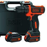 BLACKDECKER-BDCDD12KB-QW-Perceuse-visseuse-sans-fil-12V-max-tension-nominale-de-108V-26-Nm-Lithium-ion-2-batteries-15-Ah-Chargeur-inclus-Livre-en-coffret-0