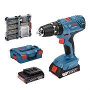 Bosch-Professional-Perceuse-Visseuse--Percussion-Sans-Fil-GSB-18-V-21-2-batteries-20-Ah-18-V-avec-set-daccessoires-40-pices-L-Boxx-0
