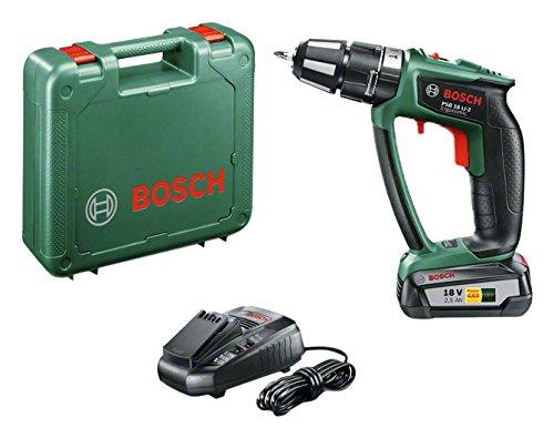 Bosch-Perceuse-Visseuse–PercussionExpert-sans-Fil-PSB-18-Li-2-Ergonomic-1-Batterie-25-Ah-Technologie-Syneon-0
