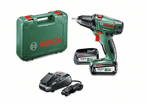 Bosch-Perceuse-visseuse-Expert-sans-fil-PSR-144-Li-2-coffret-2-batteries-144V-25-Ah-technologie-Syneon-060397340P-0