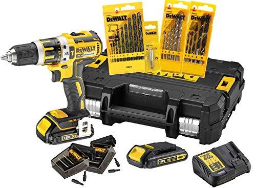 DeWalt-DCK795S2T-QW-Perceuse-visseuse-percussion-compact-18V-XR-1-5Ah-avec-malette-TSTAK-et-accessoires-0