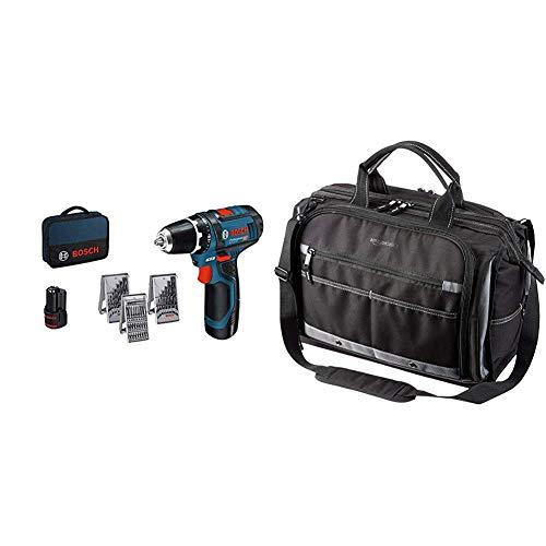 Perceuse-visseuse-sans-fil-Bosch-Professional-GSR-12v-15-2×2-batterie-0-Ah-mandrin-de-10-mm-950-g-avecla-batterie-12-volts-L-BOXX-0601868109-0