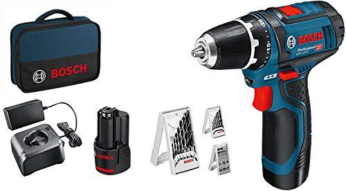 Bosch-Professional-12V-System-Perceuse-visseuse-sans-Fil-GSR-12V-15-incl-2×20-batterie-chargeur-39-pcs-set-daccessoires-dans-un-sac-Amazon-Exclusive-0